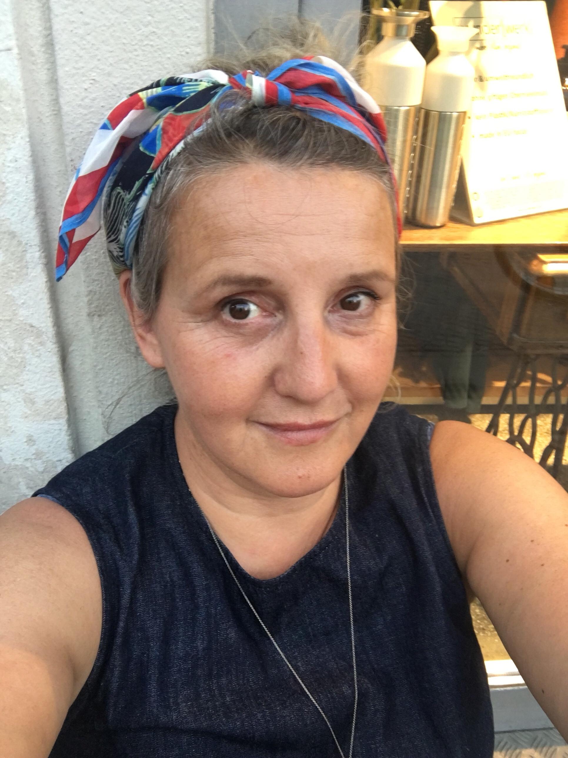 Selfie in nachhaltiger Mode
