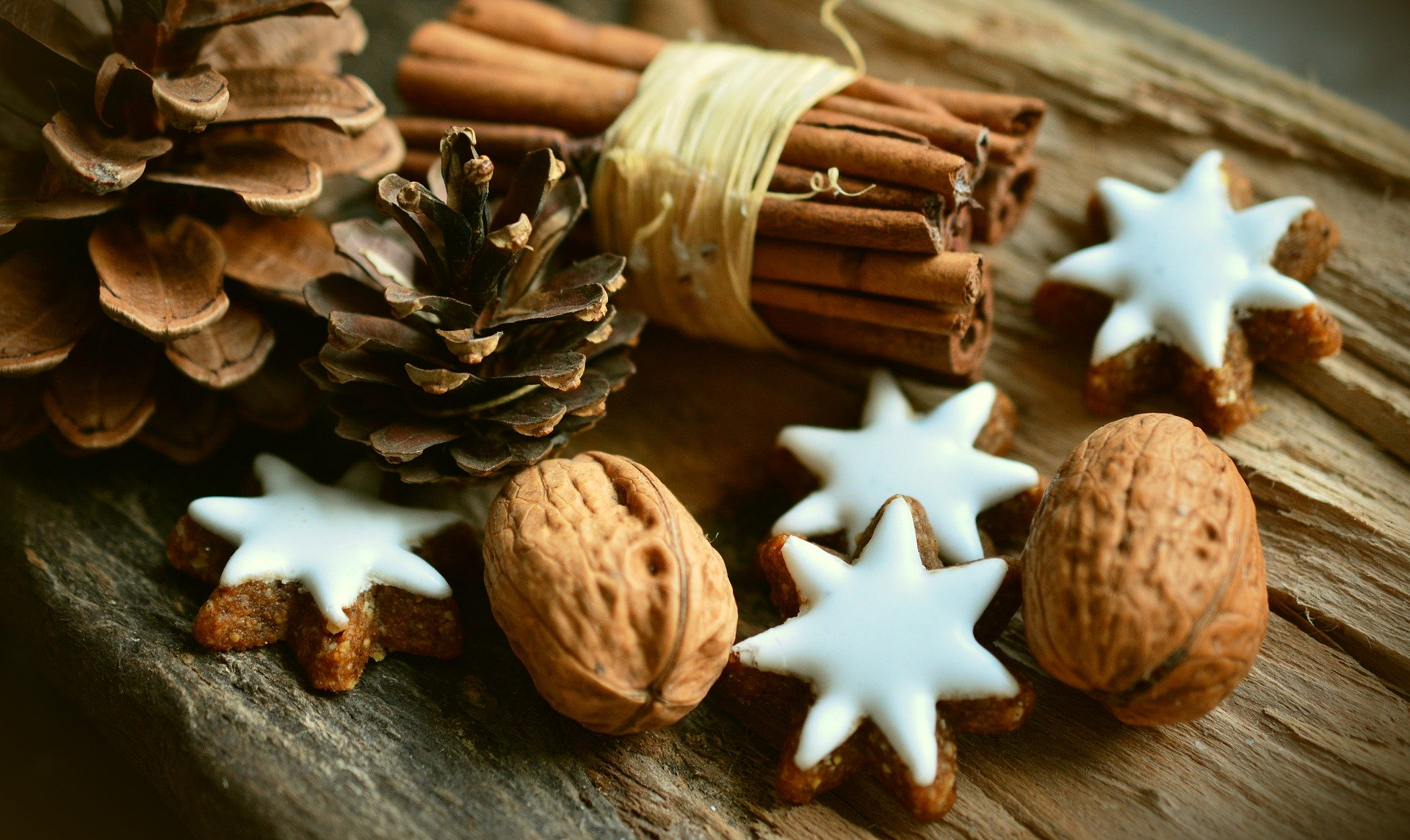 Zimtsterne zu Weihnachten